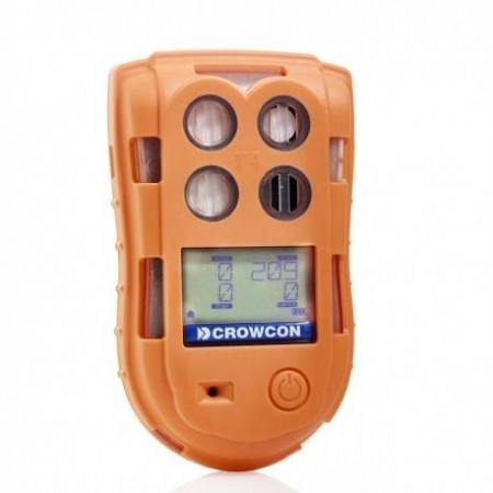 Détecteur 2 Gaz O2/LIE - CROWCON T4 ZOCA - Mesure l'oxygène et les gaz inflammables
