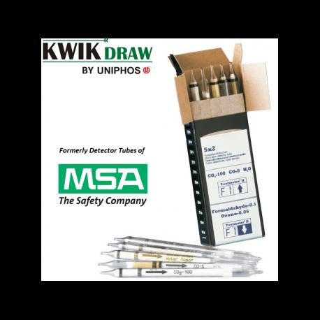 Tubes colorimétriques MSA KWIKDRAW - Détection de gaz