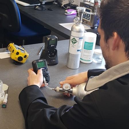 Maintenance détecteurs de gaz