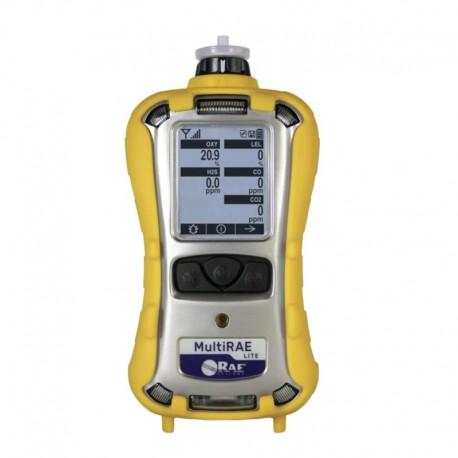 Détecteur 5 gaz MULTIRAE Lite, mesure les COV, O2, CO, H2S et LIE