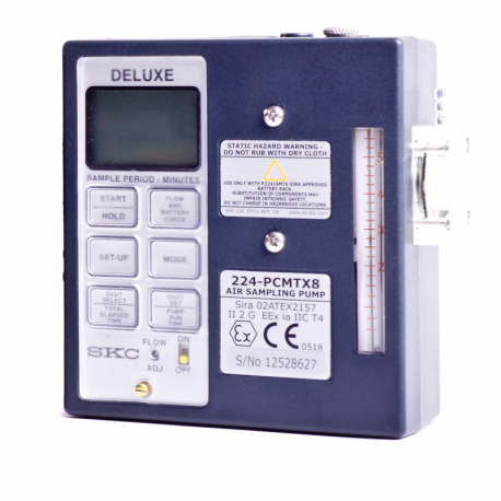 Pompe de prélèvement SKC Universal Deluxe programmable