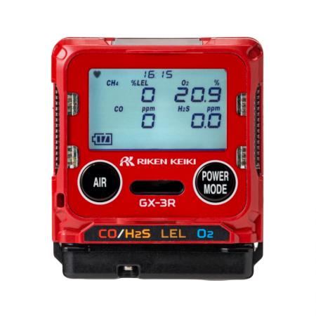 Détecteur 4 gaz O2/CO/H2S/LIE | GX-3R | REIKEN KEIKI
