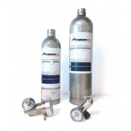 4 Gaz | 34 L | RAE |50% LIE-18% O2-50ppm CO-10ppm H2S |Gaz de calibration