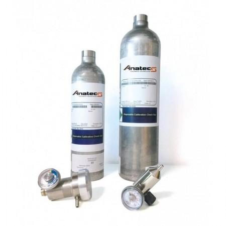 4 Gaz | 34 L | MGT| 50% LIE-18% O2-100ppm CO-25ppm H2S | Gaz de calibration
