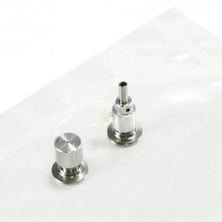 Sac Tedlar - 1 litre - embout inox | SKC